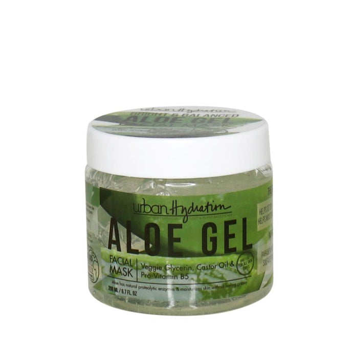 Urban Hydration Bright & Balanced Aloe Vera Leaf Facial Gel Mask