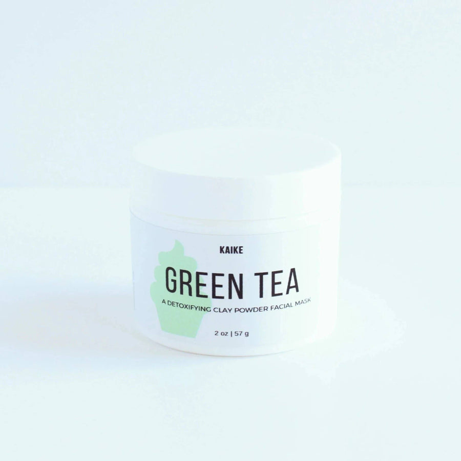 KAIKE Green Tea Clay Mask and Scrub