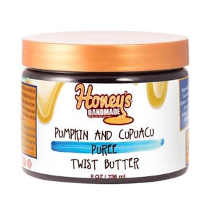 Honey's Handmade Pumpkin & Cupuacu Puree Twist Hair Butter