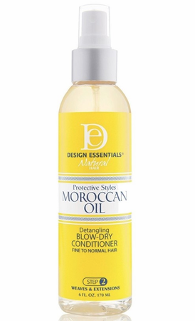 Design Essentials Moroccan Oil Detangling Blow-Dry Conditioner