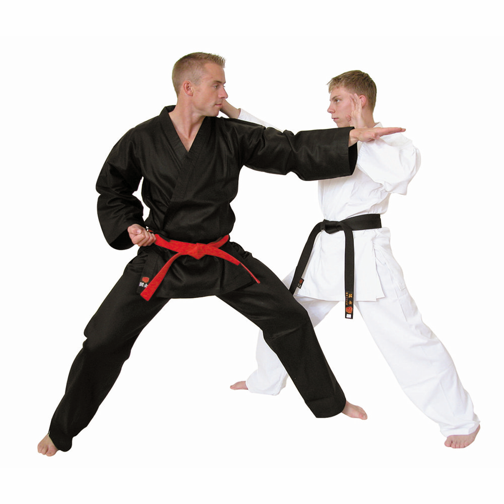 Adult Karate Gi White or Black Lightweight Student Karate Suit Gi Master - Hakutora