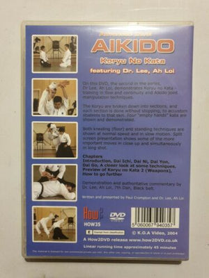 Aikido - Advanced Level Koryu No Kata - Part 1. Koryu Dai Roku. Feat. Dr Lee DVD - Hakutora