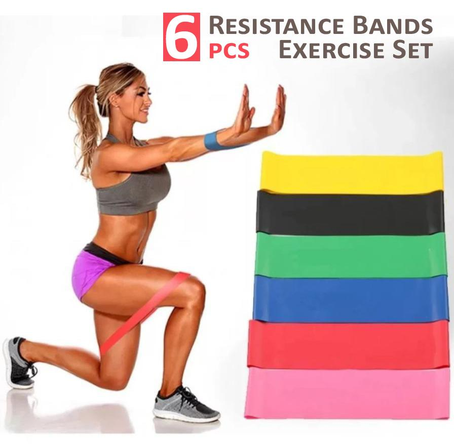 6PCS Resistance Bands Exercise Set