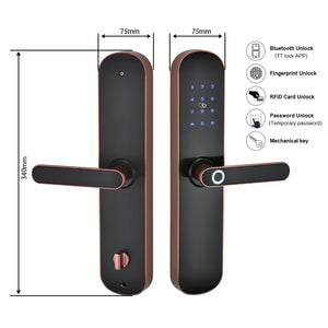 best electronic door lock with biometric fingerprint supported