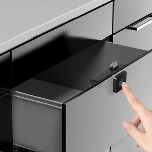 Drawer Fingerprint Intelligent Electronic Lock File Cabine