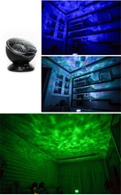 Load image into Gallery viewer, ocean wave projector night light With USB Remote Control TF Cards Music Player Speaker