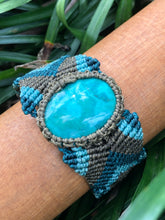 Load image into Gallery viewer, Chrysocolla unisex cuff