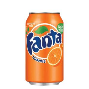 Fanta Orange Cans  330ml (Fanta) (4433738891298)