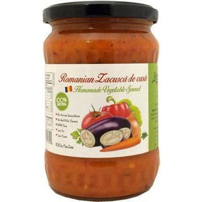 Romanian Zacusca de Casa Homemade Vegetable Spread 530g (Livada)