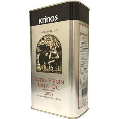 Extra Virgin Olive Oil from Crete 3l (Krinos)