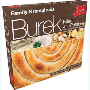 Family Burek with POTATO / Krompirusa 500g (Jami)