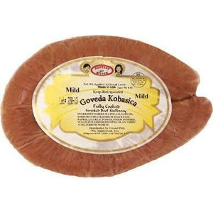 Beef Sausage / Govedja kobasica (1.78 lbs / 807g) (Brother And Sister)