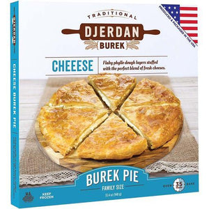 "Burek with Cheese 10"" Round Pie 850g (Djerdan)"