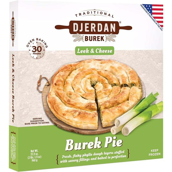 Burek with Leeks and Cheese Swirl Family Size 850g (Djerdan)