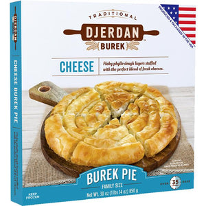 Burek with Cheese Swirls Pie Family Size 850g (Djerdan)