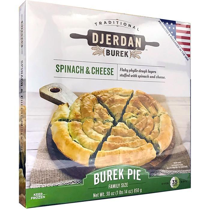 Burek with Spinach and Cheese Swirl Family Size 850g (Djerdan)