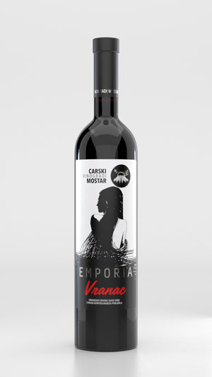 Carski Emporia Vranac Premium Dry Red Wine 2016 750ml (Wines of Illyria)
