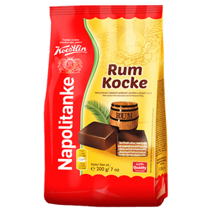 Rum Flavored Wafers w/Cocoa  200g (Koestlin) (4433747542050)