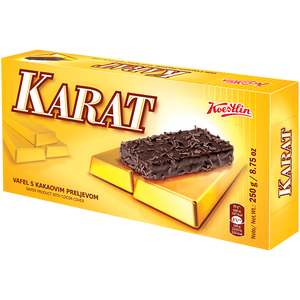 Karat Wafers with Cocoa Cover  250g (Koestlin) (4433747509282)