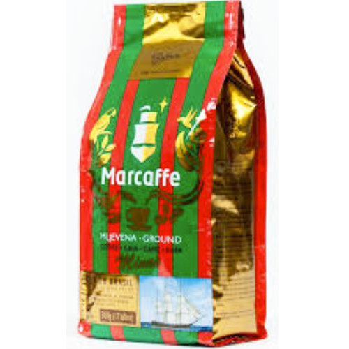 Green/Red Ground Coffee 500g (Marcaffe)