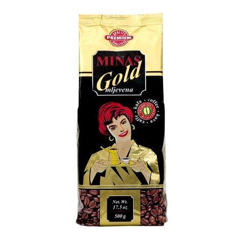 Minas Gold Premium Roasted Ground Coffee 500g (Marcaffe)