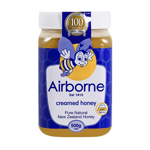 Airbone Honey Classic Creamed  500g (Airbone Honey) (4433738530850)