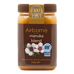 Airbone Honey MANUKA 25+ (AAH Active Health Honey)  500g (Airbone Honey) (4433738629154)