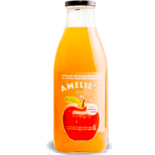 Fresh-Pressed Cloudy Apple Juice 1L (Amelie's)