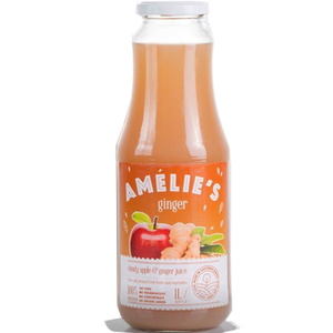 Fresh-Pressed Cloudy Apple and Ginger Juice  1L (Amelie's) (4433732567074)