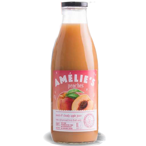 Fresh-Pressed Cloudy Apple and Peach Juice  1L (Amelie's) (4433732763682)