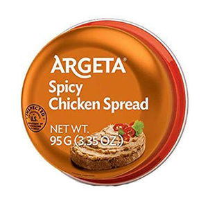 Argeta Spicy Chicken Spread  95g (Kolinska) (4433739907106)