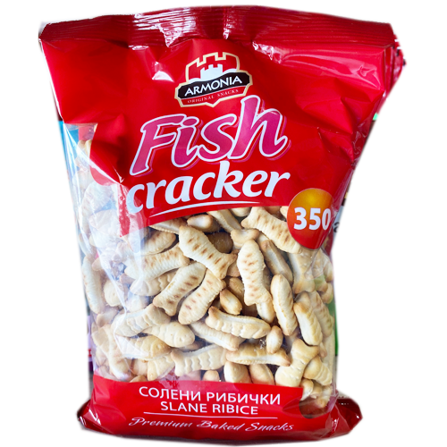 Fish Crackers 350g (Armonia)