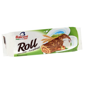 Swiss Roll Cake Filled With Hazelnut 250g (Balconi)
