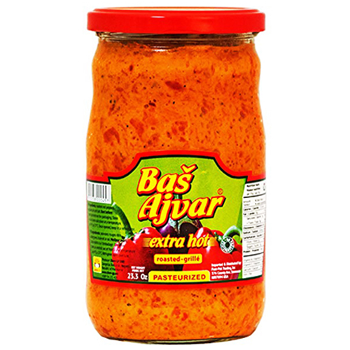 BASH Extra HOT Ajvar 680g (Va-Va)