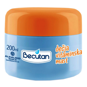 Baby Vitamin Cream 200ml (Alkaloid)
