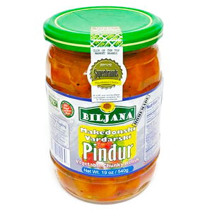 Vardarski PINJUR Red Pepper Spread  470g (Biljana)