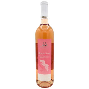 Carski Blatina Premium Dry Rose Wine 2019 750ml (Wines of Illyria)