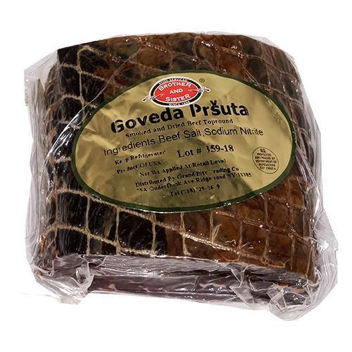 Smoked Beef Top Round / Govedja Prsuta (Price per Piece) (Brother And Sister)