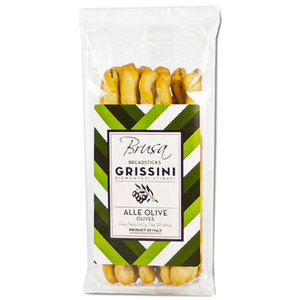 Grissini Breadstick Olives 140g (Brusa)