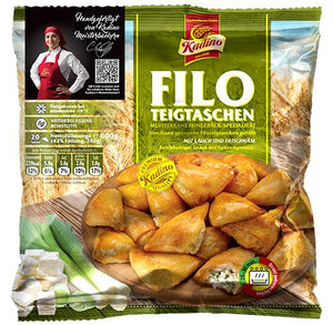Burek Filo Bites w. Cheese and Leek  600g (Kadino) (4433738989602)