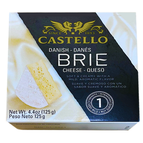 CASTELLO Danish BRIE Cheese 125g (Rosenborg)