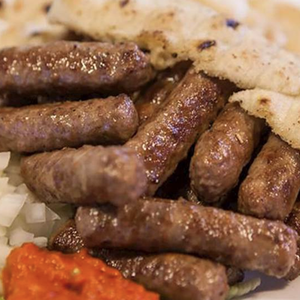 Todoric Frozen Sausage with Beef, Pork & Lamb / Cevapi sa Svinjetinom - Vac Pack 2lbs/907g (Brother And Sister)