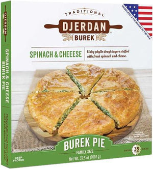 "Burek w. Spinach and Cheese 10"" Round Pie  850g (Djerdan) (4433735385122)"