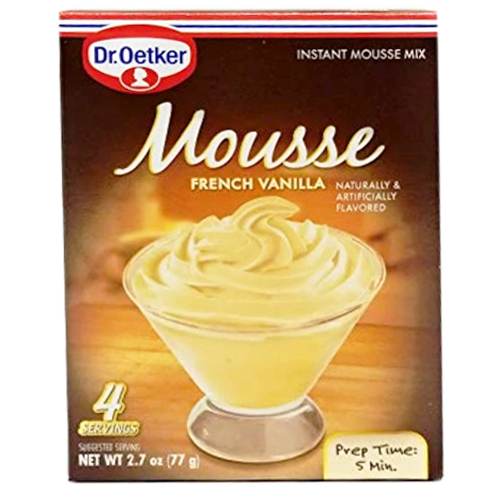 French VANILLA Mousse 76g (Dr. Oetker)