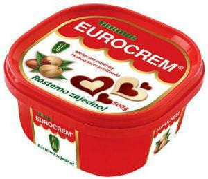 Eurocrem Hazelnut Milk And Cocoa Spread 500g (Takovo)