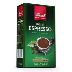 Espresso Ground Coffee  250g (Franck) (4433743708194)