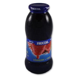 Superior Strawberry Nectar Glass Bottle  200ml (Fructal) (4433744298018)