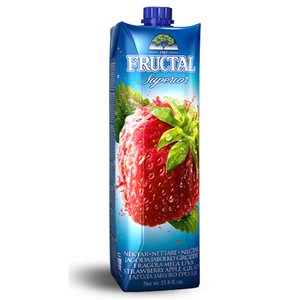 Superior Strawberry Apple Grape Nectar Prisma 1L (Fructal)