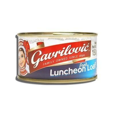 Pork Luncheon Loaf 150g (Gavrilovic)
