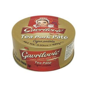 Tea Time Pork Pate Cajna  100g (Gavrilovic) (4433745149986)